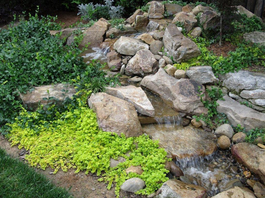 Ponds waterfalls for Home ponds and waterfalls